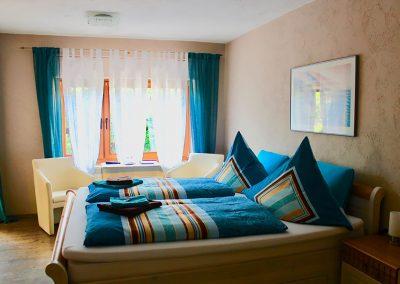 """Das """"Blaue Zimmer"""""""